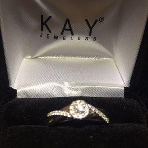 10 WG DIAMOND ENGAGEMENT RING